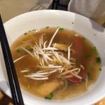 Soupe Tonkinoise, désolé à moitié mangée ( trop bon)