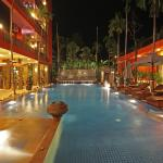 Swimming Pool at night time