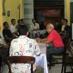 Reunione che abbiamo fatto con tutte le guide e autiste di Bali Fantastic Tour di Kade Yasa