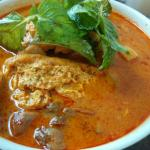 Authentic curry mee