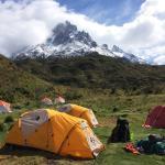 Vertice Paine Grande Mountain Shelter Foto