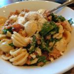Orecchiette pasta with fennel sausage