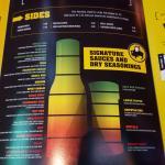 Good description of the sauces