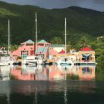 Tortola across from Swain Sailing
