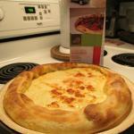Pizza Suisse (PAC = prête à cuire à la maison)