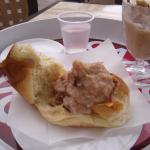 Breakfast Sicily style at Bar Sicilia