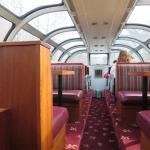 Dome section of the train