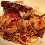 Lobster and Prawn Linguine