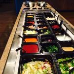 Soups & Salads are on the buffet.