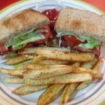 BLT and Hand cut Fries