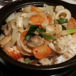 Seafood Rice Hot Pot