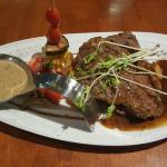 Lovely tender Wagyu steak