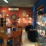 Red Earth Opal showroom and cafe
