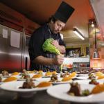 Le Sérac restaurant, cuisine fine des Alpes.