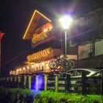 Der Gasthof Bauhof (Nachtaufnahme)