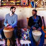John and Shtouki always drumming
