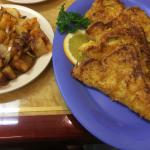 French toast and home potatos