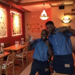 Happy and friendly staff