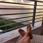 Vista al mar desde habitación