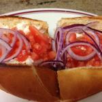 Custom Tuna Melt - Italian Bread + Tuna + Onions + Tomato