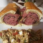 Corn beef and pastrami!! Out of this world.