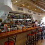 Inside the bar of Rhapsody