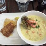 Best chowder in the country! VERY tasty!