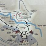 Map around Old Faithful Inn