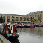 The Museum is on a basin of the London Canal system.
