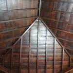 Inside of the room, the wonderful roof