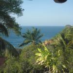 Aussicht von unserer Terrasse