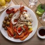 A la Plancha Seafood Platter