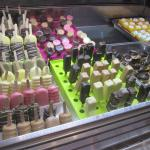 yummy ice cream bars ready to go