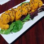 Thai shrimp..these were A+