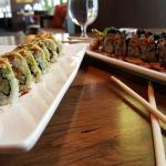 Great sushi rolls!