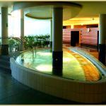 Indoor Pool im Sauna Bereich