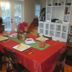 Dining MeadowView Cottage