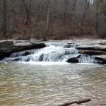 Horseshoe Falls at Musgrove Mill State Park