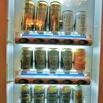 自動販売機※ビールはプレミアムモルツのみでした
