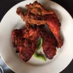 Tandoori Chicken & Mix Veg Pakoras
