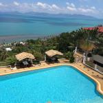 Ferienhaus/ Hotel Artrium Poolbereich