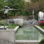 Sculpture garden, view #2