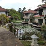 Outdoor View of Villas