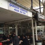 Restoran girişi
