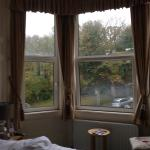 View from Room 6, on a wet & windy November day