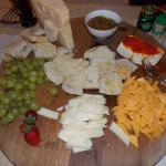 Cheese Board with compote