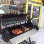grill, mitten im skigebiet ;-)