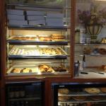 Livingston Diner - dessert case