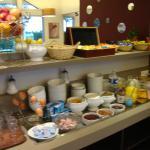Le buffet petit-déjeuner