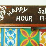 Happy Hour time on Saturdays!